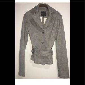 Amisu New Yorker 38 Womens Grey Button Down Jacket